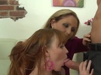 Blonde BJ teacher gives another lesson