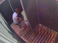 Nude teens caught on spy cam