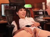Asian babe in torn panties sees her doctor