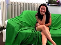 Chubby German babe gets to the business