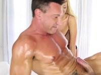 Horny stud gets the massage he always wanted