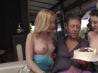 Rocco's rookie nookie surprise birthday cake
