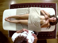 Young masseur can't say no to a shameless client