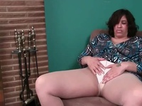 Mega BBW plays with her big pussy