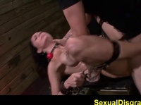 Anal torture for the cock lover