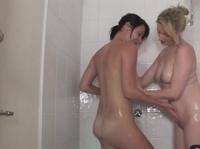 BBF take shower together