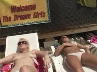 Dream girls are taking solar baths