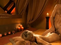 Erotic relaxation for a lucky beauty