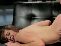 Slutty secretary bends over for a bonus