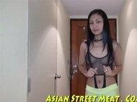 Asian hooker visits her friend