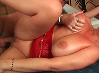 Couple of hard sticks for busty milfs