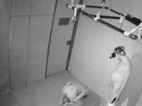 Spy cam catches young chick's sexual humiliation