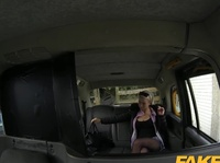 Fake taxi driver is blown away by her sexiness