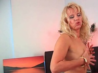 Mature blondes go wild