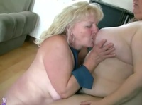 Fat lesbians are desperate to make their wet pussies cum