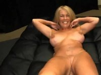 Blonde milf in amazing shape takes part in Pov Wars