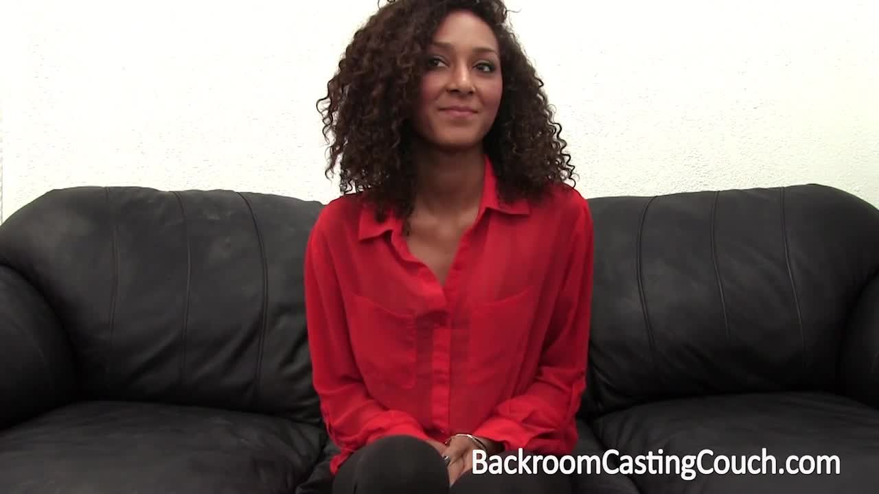 Ebony casting couch black
