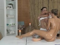 Deep pussy massage is performed by a real pro