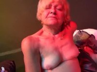 Granny gets to play with a young horny couple