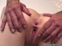 Baldy oldie gets an ultimate young pussy experience