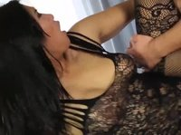 Asian masseur is taking care of her shy client's needs
