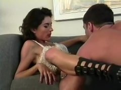 Horny girl persuades her guy to film their fun times