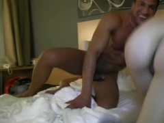 Horny Stud Can't Believe He Shares Bed with This Young Sweetie