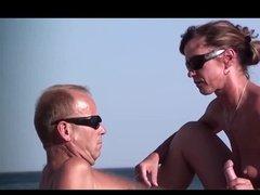 Seaside Date Turns Into Wild Blowjob