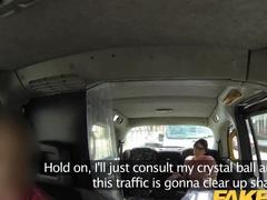 Fake taxi driver fucks a clairvoyant