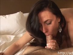 Unabashed mature lady lets her stud stick it in all the holes
