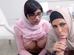 Hijabis like to have some carnal fun too